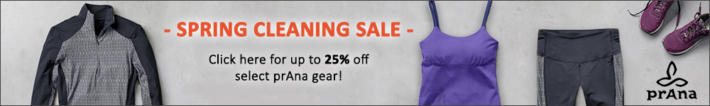 Prana Clothes and Gear on Clearance