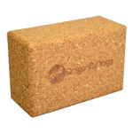 "Dragonfly 4"" Cork Yoga Block"
