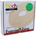 Body Sport®  Exercise Tubing, 100 ft Roll, Extra Light Resistance - Beige