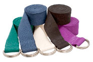 6' D-Ring Buckle Cotton Yoga Strap