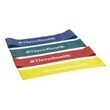 "Thera-Band® Resistance Band Loops - Yellow / THIN, 8"" Lay Flat Length"