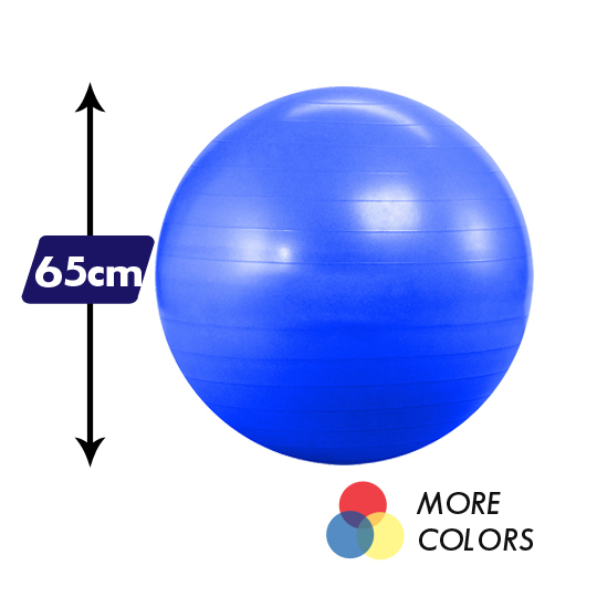 65 Cm Anti Burst Yoga Balance Ball Yoga Accessories