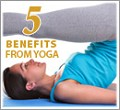 The 5 Benefits from Yoga