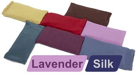 Large Silk Eye Pillow (Lavender)