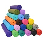 YOGA Accessories 1/4'' Extra Thick Deluxe Yoga Mat