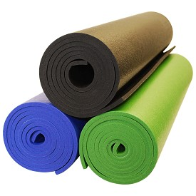 YogaAccessories Premium Weight Yoga Mat