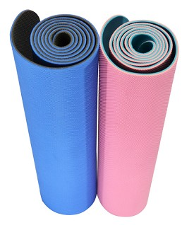 YOGA Accessories 5 mm TPE Eco-Conscious Yoga Mat - Buy One Get One Free