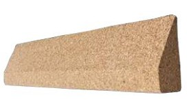 20 Inch Cork Yoga Wedge