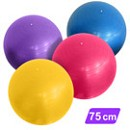 75 cm Anti-Burst Yoga Balance Ball with Pump
