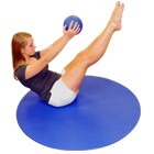 YOGA Accessories Ultra 4 Foot Circular Aerobics Mat