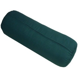 MaxSupport Deluxe Round Cotton Yoga Bolster