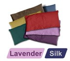 Small Silk Eye Pillow (Lavender)