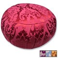 Round Silk Jacquard Zafu Meditation Cushion