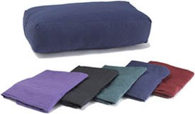 Cover for Rectangular Cotton Yoga Bolster