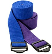 BOGO 6' Cinch Buckle Cotton Yoga Strap by YogaAccessories.com