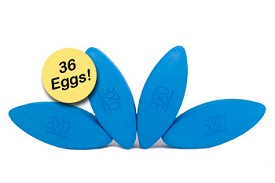 Three Minute Egg Yoga Block Studio Starter