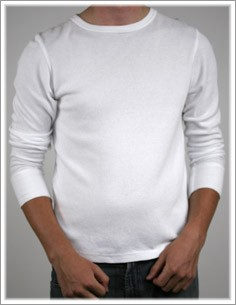 Men's Thermal Long Sleeve Crew
