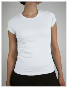 Women's Cap Sleeve Crew