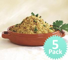 Quinoa Khichadi Value Pack (5 for the price of 4) (Quinoa and Spices) gluten free