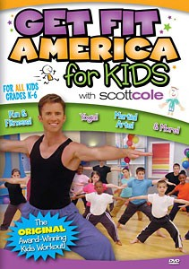 Scott Cole: Get Fit America for Kids Workout (DVD)