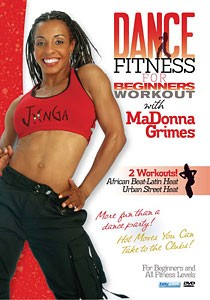 Dance Fitness Workouts - Urban Street and African Beat with MaDonna Grimes 2-PK (DVDs)