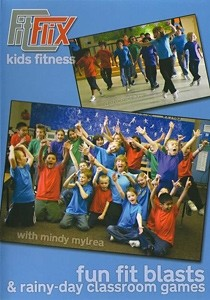 Mindy Mylrea: Fun Fit Blast & Rainy Day Classroom Games for Kids (DVD)