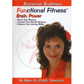 FUNCTIONAL FITNESS: BRAIN POWER MEMORY BOOST WITH SUZANNE ANDREWS