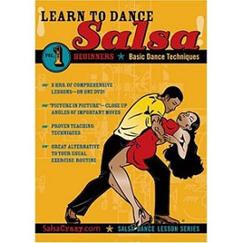 Learn To Salsa Dance, Volume 1. Salsa Dancing Guide For Beginners (DVD)