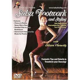 Salsa Dance Footwork And Styling (DVD)