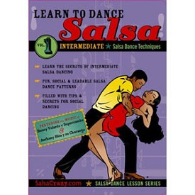 Learn To Dance Salsa Vol. 1 Intermediate (DVD)