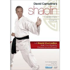 David Carradines Shaolin Cardio Kick Boxing Workout (DVD)