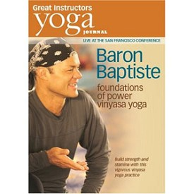 Yoga Journal: Baron Baptiste Foundations Of Power Vinyasa Yoga (DVD)