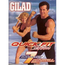 Gilad: Quick Fit System : 7 Fat Burning Body Sculpting Workouts ( 7 DVDs)