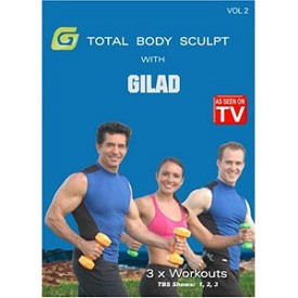 Gilad: Total Body Sculpt Workout 2 (DVD)