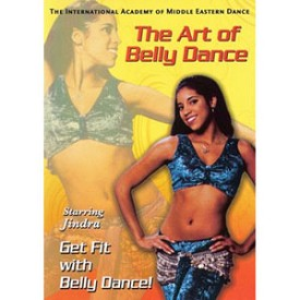 The Art Of Bellydance: Get Fit With Belly Dance With Jindra (DVD)