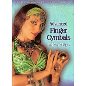 Advanced Finger Cymbals For Bellydance Instruction With Ansuya (DVD)