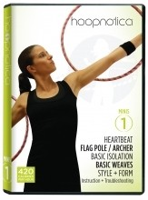Hoopnotica Fitness Hula Hoop Minis DVD Level 1
