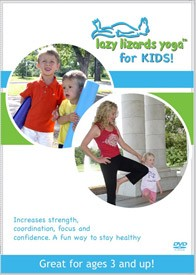 Lazy Lizards Yoga for Kids