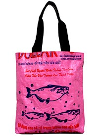 Recycled Rice Bag - Shopping Tote