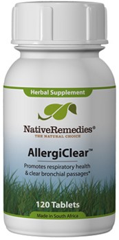 AllergiClear for Normal Histamine Levels (120 Caps)