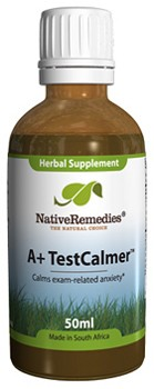 A+ TestCalmer to Calm Exam Nerves in Children and Teens (50ml)