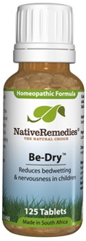 Be-Dry Bedwetting Formula for Childhood Bedwetting (125 Tablets)