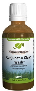 Conjunct-a-Clear Wash for Cleansing Sticky, Sore Eyes (Compress)(50ml)