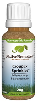 CroupEx Sprinkles to Temporarily Relieve Croup and Barking Cough (20g)