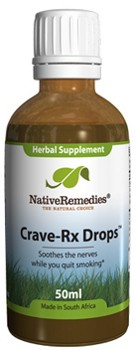 Crave-Rx Drops for Nicotine Withdrawal (50ml)