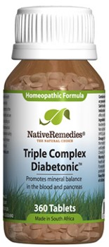 Diabetonic Tissue Salts for Mineral Imbalances (360 Tablets)