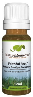 Faithful Feet Aromatic FootSpa Concentrate for Tired Feet (12ml)