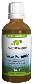 Focus Formula for Improved Attention Span (50ml)