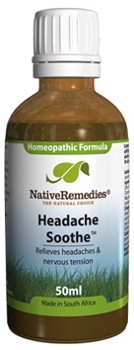 Headache Soothe for Headaches and Nervous Tension (50ml)