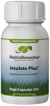 InsulatePlus for Diabetes Symptom Control (60 Caps)